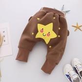 秋冬款嬰兒大屁屁褲0-1歲新生兒包屁褲男女寶寶加絨哈倫褲pp褲