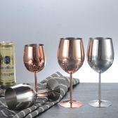 304不銹鋼大號高腳葡萄酒杯家用裝飾擺件 熊熊物語
