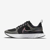 Nike React Infinity Run Fk 2 Bt [DD6790-001] 男女鞋 慢跑鞋 避震 彩虹 黑