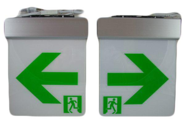 ﹝〝漢 視 消 防〞﹞ 投光型17*17壁掛LED出口燈.方向燈.指示燈.誘導燈.避難燈.台灣製造