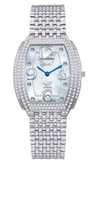 Ogival 創意顯時珠寶腕錶-真珠母貝 3872MW