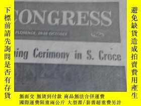 二手書博民逛書店DAILY罕見CONGRESS 1974.OCT.21 ST -