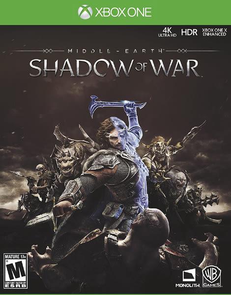 X1 Middle-Earth Shadow Of War 中土世界:戰爭之影(美版代購)