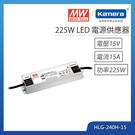 明緯 225W LED電源供應器(HLG-240H-15)