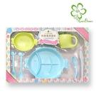 【Cornflower】兒童餐具禮盒7入組-顏色隨機 (無毒玉米餐具)