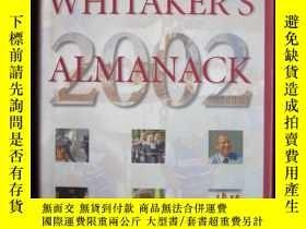 二手書博民逛書店Whitaker s罕見Almanac 2002 (134th