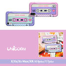 -兩色-LOVE SONG錄音帶全包軟殼 保護殼 iphone XSMax XR iXiXS i7i8 i7i8plus Unicorn手機殼