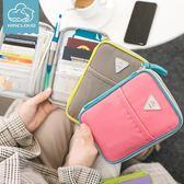 證件包 護照包多功能證件包護照夾票據收納包防水卡包錢包旅行機票保護套 魔法空間