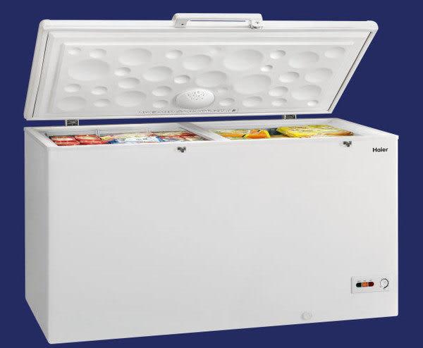 «0利率/免運費»Haier海爾 519公升 5呎5 上掀式 密閉冷凍櫃HCF-588H 【南霸天電器百貨】