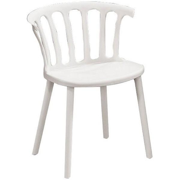 餐椅 QW-717-16 尼姆白色餐椅【大眾家居舘】