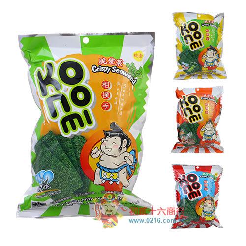 KoNoMi相撲手脆紫菜海苔(原味/辣味/芥末/酸辣海鮮)40g【0216團購會社】