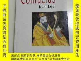 二手書博民逛書店confucius罕見孔子Y5046 Jean levi Jea