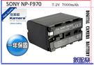 攝影燈專用 NP-F970 鋰電池