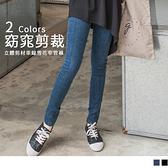 OB嚴選《BA2630-》直線內收設計雪花美臀窄管褲‧2色--適 S~XL