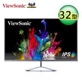 【ViewSonic 優派】32型 IPS 無邊框寬螢幕 (VX3276-2K-MHD)【送收納購物袋】