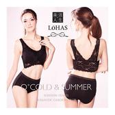 LOHAS 天絲棉無鋼圈美背機能內衣(附胸墊)-膚-XL【屈臣氏】