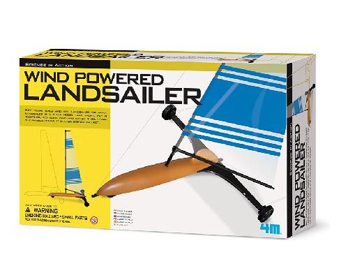 風動快艇 Wind Powered Landsailer 路上風船