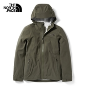 The North Face 女 FUTURELIGHT 防水透氣外套 墨綠 NF0A46L521L 【GO WILD】