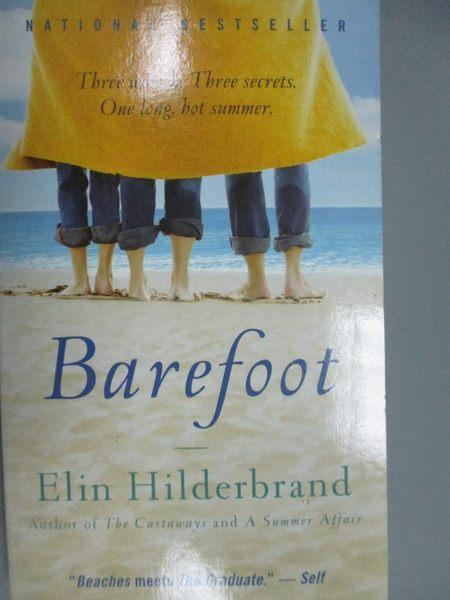 【書寶二手書T3/原文小說_KNJ】Barefoot_Hilderbrand, Elin