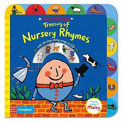 Treasury Of Nursery Rhymes 趣味童謠歌唱本 硬頁有聲CD書