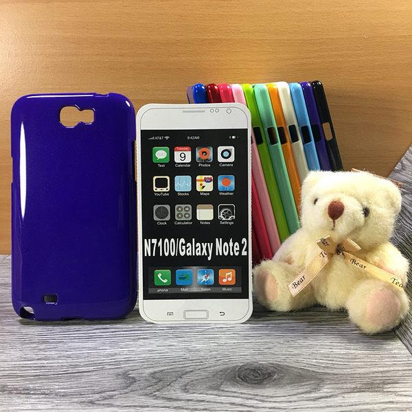 ◎大都會保護殼 Samsung Galaxy Note 2 N7100/Note 4 N910U 保護殼 TPU 軟殼 閃粉 矽膠殼 手機殼 背蓋