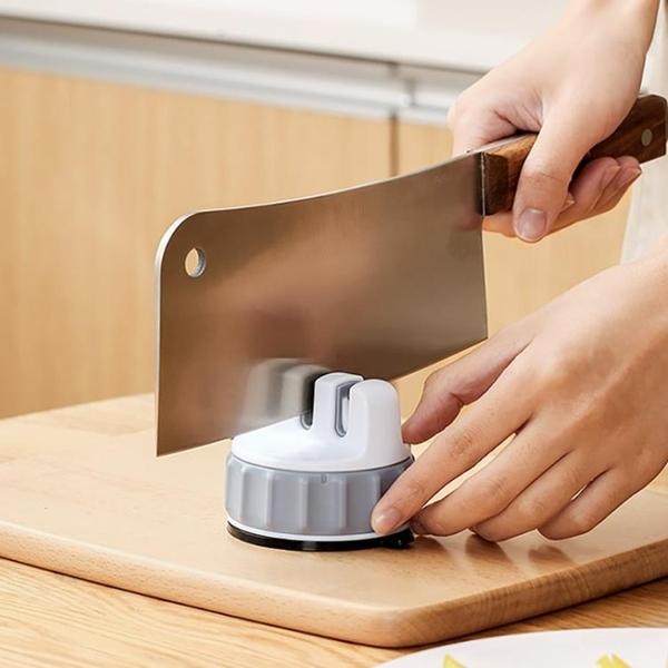 日本磨刀器家用快速磨刀石多功能吸盤磨菜刀器神器超細磨剪刀石棒 【母親節特惠】
