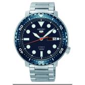 SEIKO 精工經典 新款盾牌五號潛水型機械錶4R36-06N0B(SRPC63J1)藍x銀