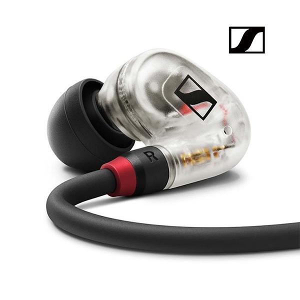 SENNHEISER 森海塞爾 IE 40 Pro 入耳式監聽耳機 (黑色/透明) 耳道式