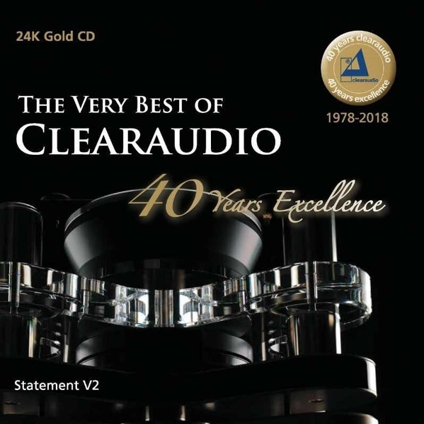 停看聽音響唱片】【CD】THE VERY BEST OF CLEARAUDIO  40 Years Excellence (24K GOLD CD)