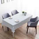 田園防水防油餐桌布免洗桌布塑料餐廳台布長方形茶幾桌墊