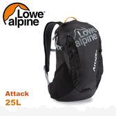 【 LOWE ALPINE 英國 Attack 25 休閒後背包《黑》25L】FMP-42/雙肩背包/登山包/健行/旅行★滿額送