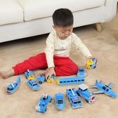 組裝磁片耐玩適合小汽車3-10歲兒童磁鐵玩具