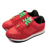 PONY繽紛韓風復古慢跑鞋--SOLA-V2--聖誕節薑餅人版--紅黑--44W1SO65RD--女  6折零碼好康