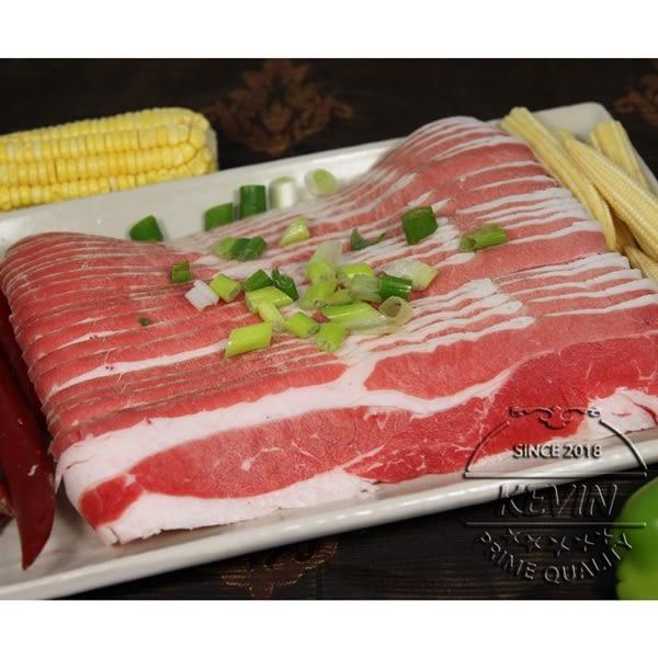 【凱文肉舖】美國牛五花火鍋片250g