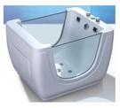 【麗室衛浴】造型獨立壓克力嬰兒浴缸 空缸 WLS-BB01 尺寸1100*850*800mm