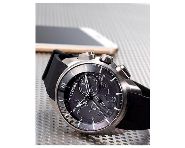 **上FB直播價格更優惠**星辰CITIZEN 藍芽光動能限量鈦金屬腕錶BZ1040-09E公司貨 全球1年保固