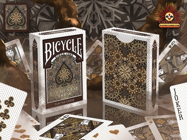 BICYCLE EARTH Playing Cards