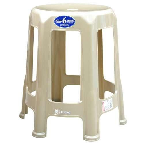KEYWAY 六腳備用椅 RC-723 藍、紅、金隨機出貨【愛買】