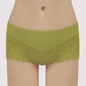 【曼黛瑪璉】經典 低腰平口萊克內褲(神秘綠)(未滿3件恕無法出貨,退貨需整筆退)