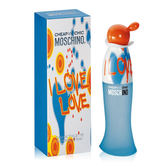 Moschino Cheap & Chic I Love Love 愛戀愛女性淡香水 50ML【UR8D】