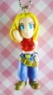 【震撼精品百貨】日本精品百貨-手機吊飾/鎖圈-格鬥系列-手機吊飾-黃頭女