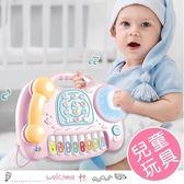 嬰幼兒益智早教 仿真電話拍拍鼓音樂玩具