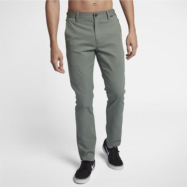 HURLEY 男 DRI-FIT WORKER PANT 長褲-DRI-FIT-綠(男)