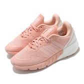 adidas 休閒鞋 ZX 1K Boost W 粉紅 白 愛迪達 女鞋 運動鞋 三葉草 【ACS】 H69038