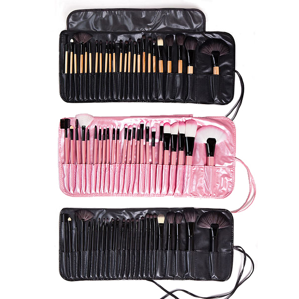 24支化妝刷套裝全套彩妝工具組合初學者 刷子黑粉色化妝筆【八折搶購】