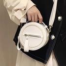 包包 女2020新款時尚百搭簡約可愛清新韓版小圓包斜挎女包