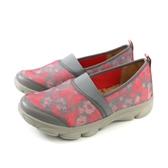 Kimo 懶人鞋 休閒鞋 女鞋 粉紅/灰色 針織 KAISF054342 no834
