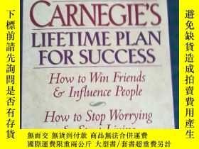 二手書博民逛書店Dale罕見Carnegies Lifetime Plan fo