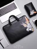 電腦包.手提包適用聯想蘋果戴爾華碩筆記本內膽11寸-15.6英寸電腦包-YSDJ227