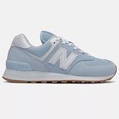 New Balance 574 B 女鞋 休閒 經典 麂皮 緩震 藍【運動世界】WL574PE2